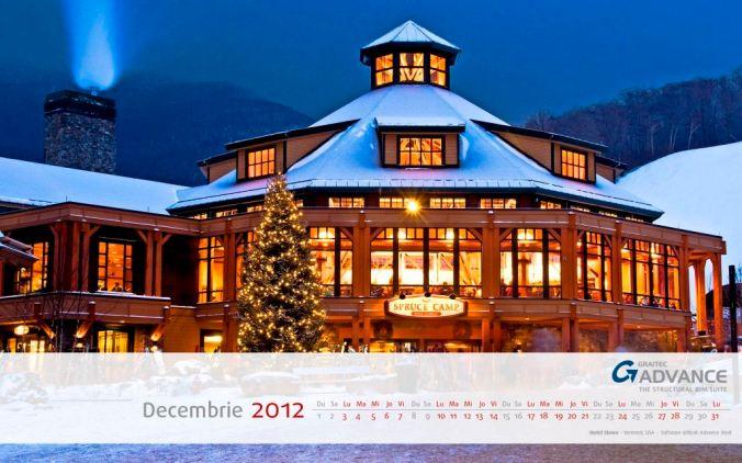 Calendar GRAITEC - Decembrie 2012