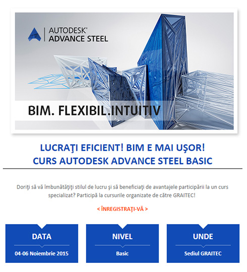 Curs Autodesk Advance Steel Basic