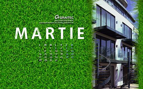 Descarcă wallpaper-ul GRAITEC pentru luna martie 2016